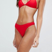 Boohoo Thong Bikini Brief at asos.com