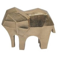 Elephant Figural Gold - Threshold™