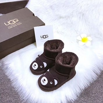 UGG baby Fashion Wool Snow Boots-2