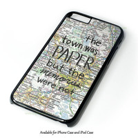 John Green Paper Design for iPhone 4 4S 5 5S 5C 6 6 Plus, and iPod Touch 4 5 Case