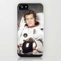 harry styles to the moon iPhone & iPod Case by SaladInTheWind
