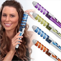 Spiral Curl Ceramic Curling Iron Dual Hair Curler