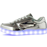 CYBER LIGHT UP SNEAKERS from foreveronline