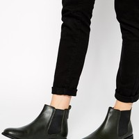 ASOS   ASOS AIRTIME Leather Chelsea Ankle Boots at ASOS