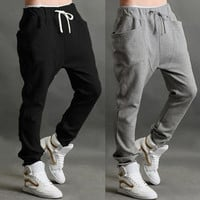 2014 Summer Men's Harem Pants Fashionable Personality Casual Loose Hip Hop Dance Male Trousers On Sale L-XXL #6 SV002179