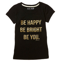 Miss Me Girls 7-16 Be Happy Be Bright Be You Tee | Dillards