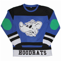 AnmlHse - Local Hoodrats Hockey Jersey in Blue