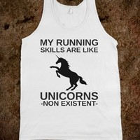 Running like a unicorn