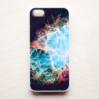 Space iPhone 5 4 4S Case iPhone 4 Galaxy Hubble Crab Nebula