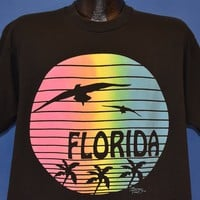 90s Florida Rainbow Tourist t-shirt Extra Large