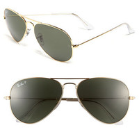 Ray-Ban 'Original Aviator' 55mm Polarized Sunglasses | Nordstrom