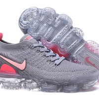 HCXX N330 Nike Air Vapormax Flyknit 2 Casual Running Shoes Grey Pink