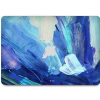 Macbook Decal Skin | Paint Collection - Blue Paint