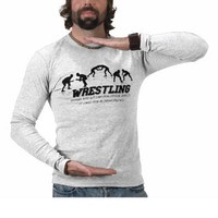 Wrestling Tees from Zazzle.com