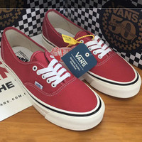 Trendsetter Vans Anaheim Canvas Old Skool  Flats Shoes Sneakers Sport Shoes