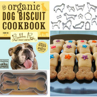 Make Your Own Dog Treats Ultimate Cookie Cutter & Cookbook SET