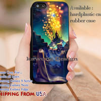 Lantern Fest Rapunzel iPhone 6s 6 6s+ 5c 5s Cases Samsung Galaxy s5 s6 Edge+ NOTE 5 4 3 #cartoon #animated #disney #tangled dl12
