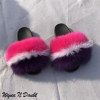 Girl Power Fur Slippers