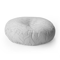 Vy La Calm Breezy Fern Floor Pillow Round