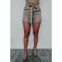 You've Got It Shorts: Taupe