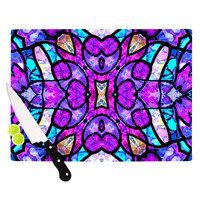 "Art Love Passion ""Kaleidoscope Dream"" Pink Purple Cutting Board"