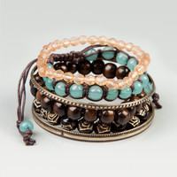 FULL TILT Bead & Bangle Bracelet Set | Bracelets