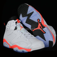 "Air Jordan 6 Retro ""Infrared 23″ and ""White/Infrared"" Release Details"