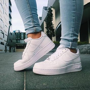 Nike Air Force 1 '07 classic white men's and women's fashion all-match low-top sneakers shoes