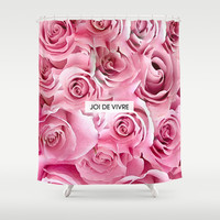 Joi de Vivre Shower Curtain by Rui Faria