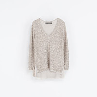SEQUINNED SWEATER