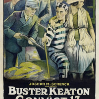 Buster Keaton Convict 13 1920 Movie Poster