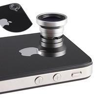 Magnetic 0.67X Wide Angle / Macro Lens Designed for Apple iPhone