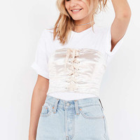 Silence + Noise Carrie Corset Top | Urban Outfitters