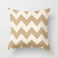 Biscotti & Cream Throw Pillow by CMcDonald | Society6