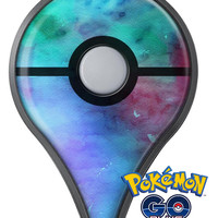 Blue 89608 Absorbed Watercolor Texture Pokémon GO Plus Vinyl Protective Decal Skin Kit