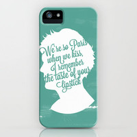 Louis Tomlinson Silhouette  iPhone Case by Holly Ent | Society6