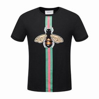 Gucci men and women T-Shirt  Black, white M-3XL