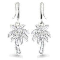 Bling Jewelry Tropical Palm Drops