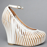 The So Crazy Shoe in White by Jeffrey Campbell Shoes   Karmaloop.com - Global Concrete Culture