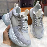【Louis Vuitton】LV RUN AWAY PULSE  Gym shoes
