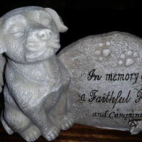 In memory of a faithful friend DOG 099278111488