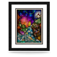 """Mandie Manzano """"Fairy Tale Alice in Wonderland"""" KESS Natural Canvas, 16"""" x 20"""" - Outlet Item"""