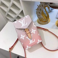 LV Louis Vuitton 2021 NEW ARRIVALS MONOGRAM LEATHER BY THE POOL TINY BACKPACK BAG
