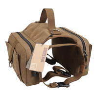 Dog Backpack Rucksack with Dog Leash for Border Collie Cane Corso Great Dane Pit Bull
