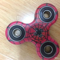 Red Creeping Spider Tri-Spinner Fidget Toy EDC Hand Gyro ADHD Focus Anti Stress Gift