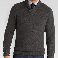 Pronto Uomo Charcoal Modern Fit Shawl Collar Sweater - Modern Fit | Men's Wearhouse