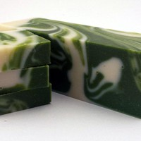 Cucumber Melon Artisan Soap Loaf -3 Pounds