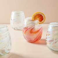 Jupiter Stemless Wine Glass Set