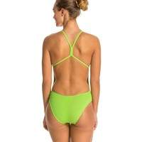 Speedo The One Solid One Piece Swimsuit at SwimOutlet.com - Free Shipping