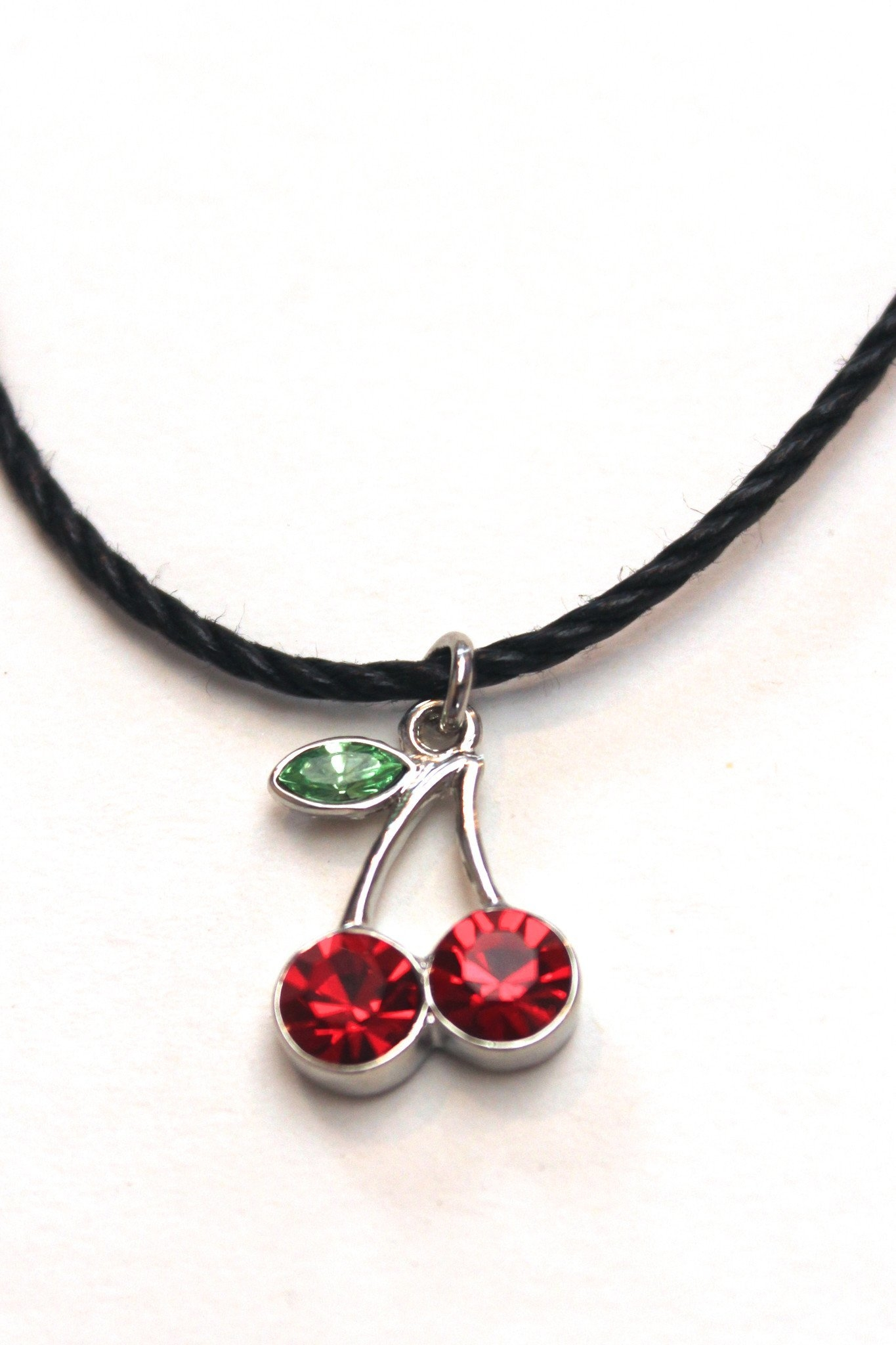 Image of Cherry Bomb Choker Necklace